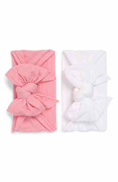 Baby Bling 2-Pack Bow Head Wraps (Baby)