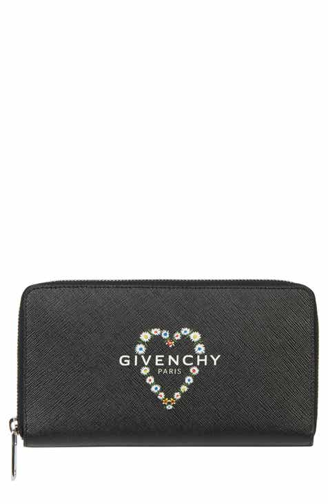5b67d5224fa Givenchy Flower Heart Logo Continental Wallet