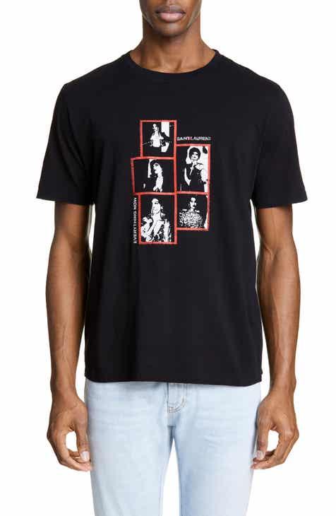 bddba44fdd Men's Saint Laurent T-Shirts, Tank Tops, & Graphic Tees | Nordstrom