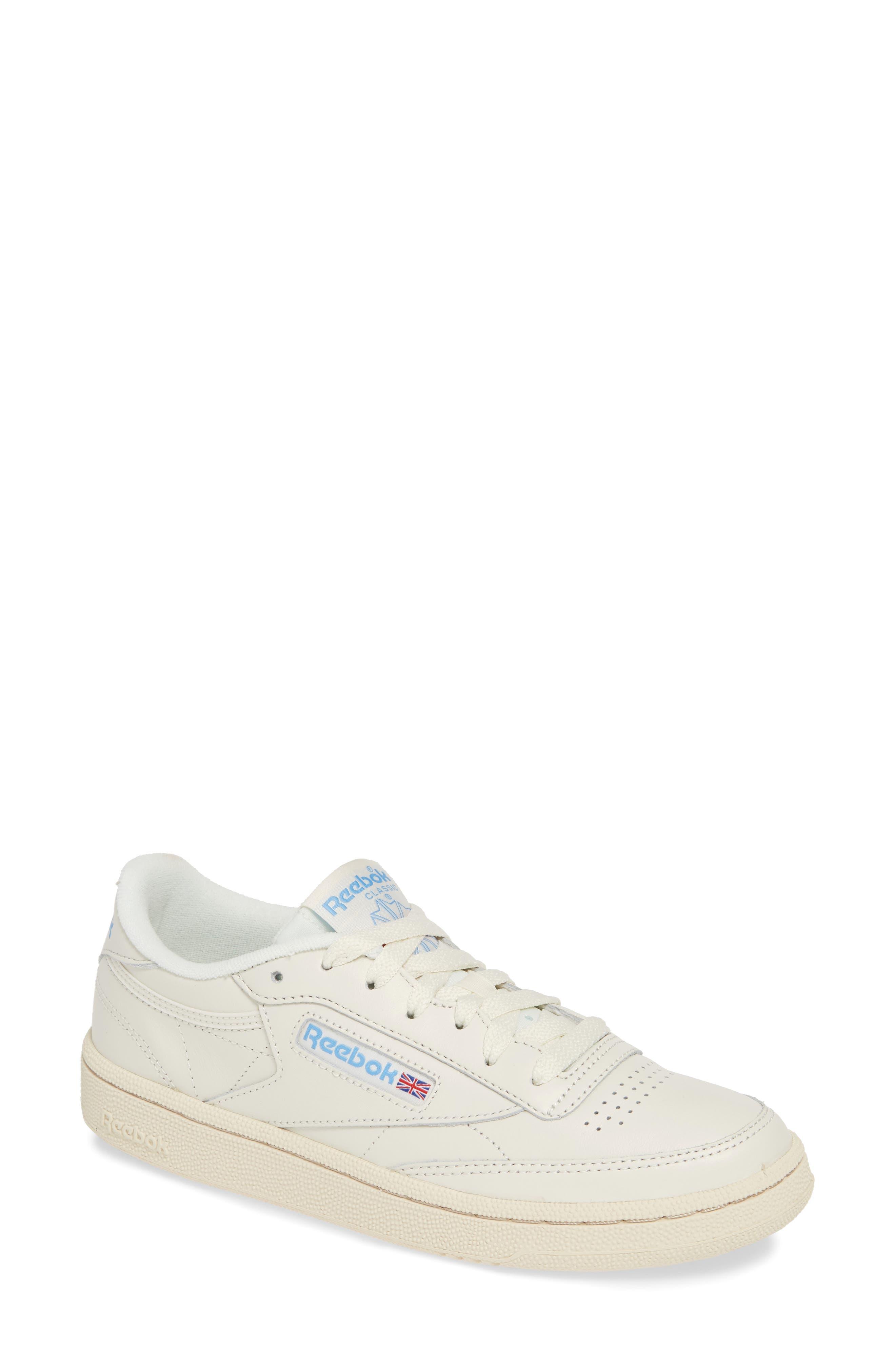 Reebok Women's Reebok Classic Leather Sneaker, Size 10 M White from NORDSTROM | ShapeShop