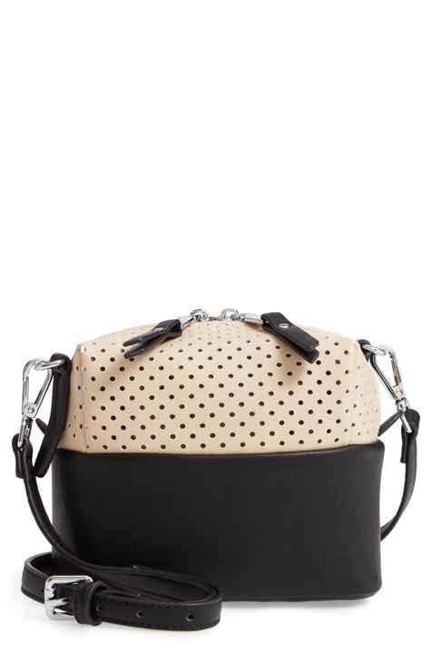 43208d0793 Urban Originals Let Me Be Perforated Vegan Leather Crossbody Bag