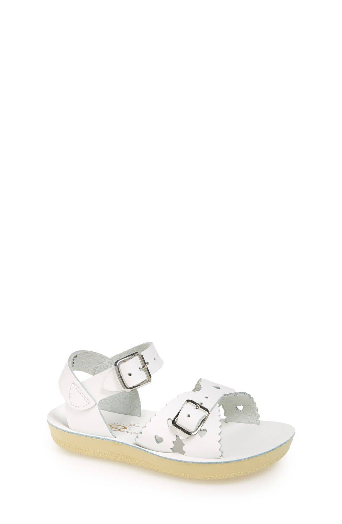 Salt Water Sandals by Hoy 'Sweetheart' Sandal (Walker, Toddler & Little Kid)
