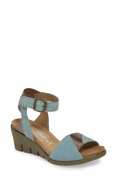 2ef269287e0 Fly London Imat Wedge Sandal (Women)