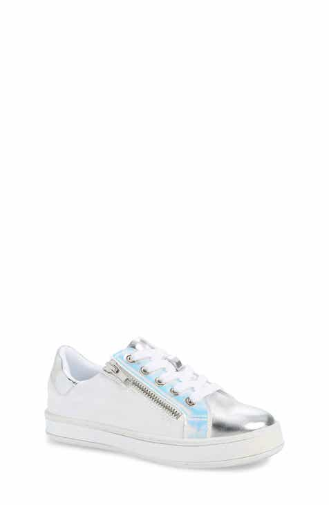 48d584017f4d Steve Madden JBOOGIE Metallic Sneaker (Little Kid   Big Kid)