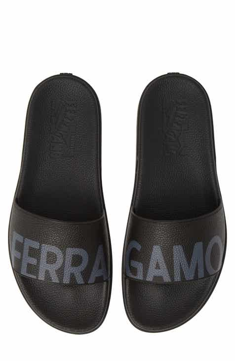 300a3b57895 Salvatore Ferragamo Amos Slide Sandal (Men)
