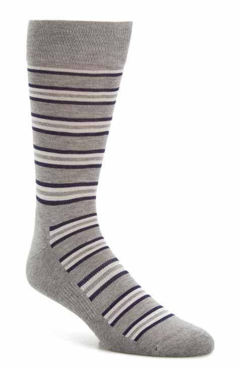 1537ee7efc177d Nordstrom Men s Shop Feeder Stripe King Size Socks (3 for  30)