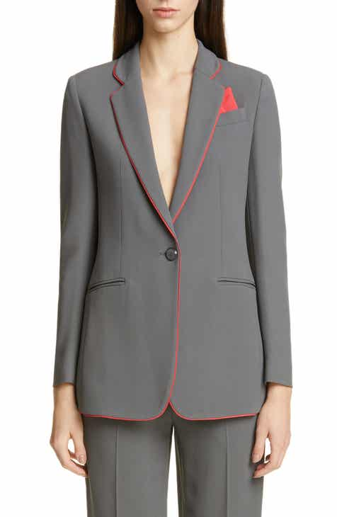Emporio Armani Piped Woven Jacket by EMPORIO ARMANI