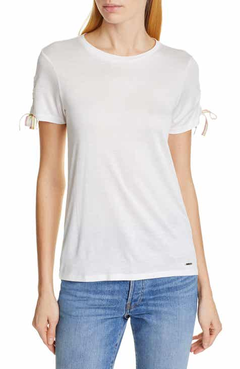 e393d04bf8f38 Ted Baker London Colour by Numbers Caneiro Tie Sleeve Tee
