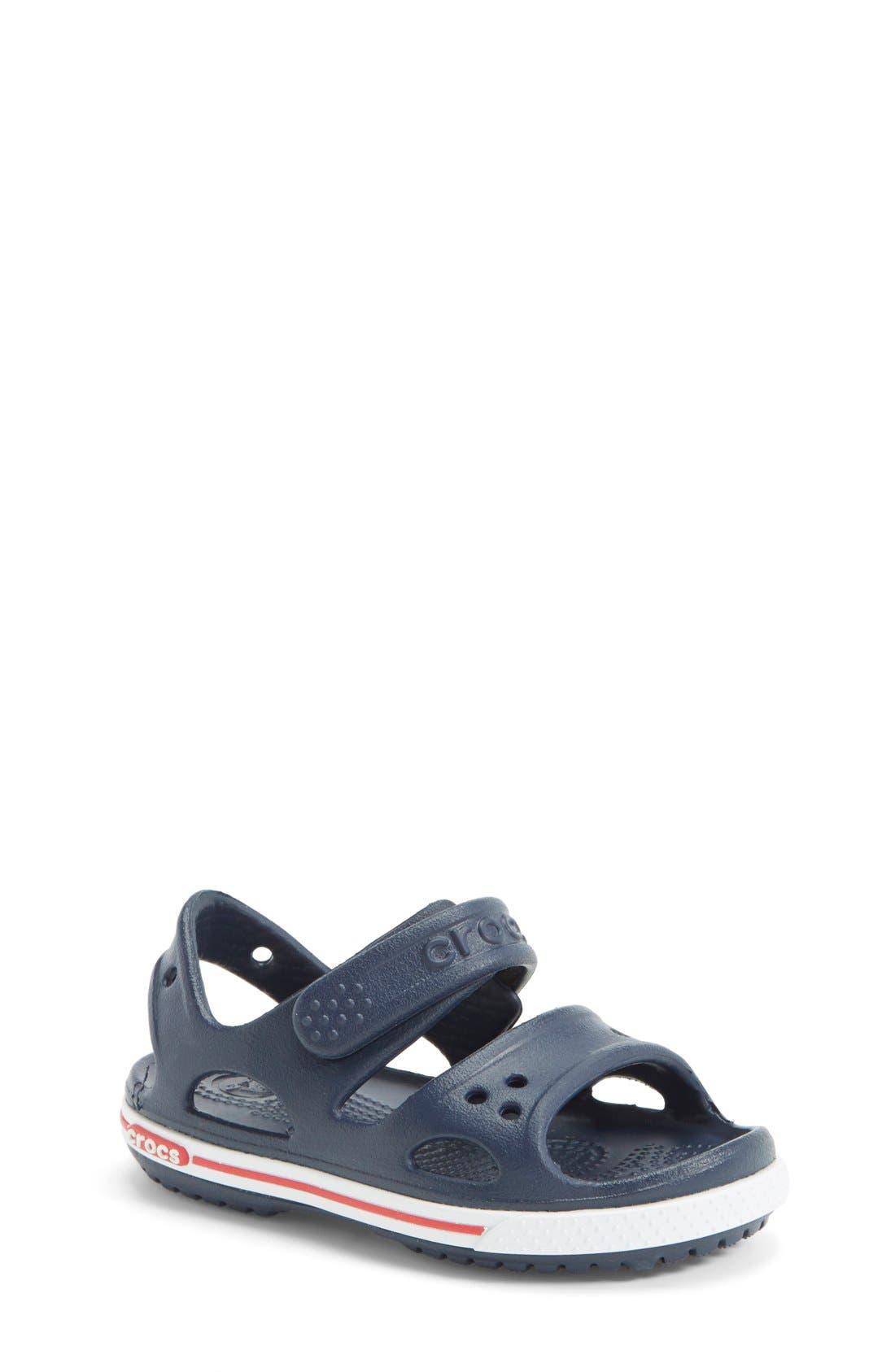 CROCS™ 'Crocband 2' Sandal (Baby, Walker, Toddler & Little Kid)