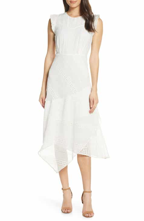 Lenon Asymmetrical Eyelet Dress by LENON EDITION