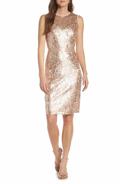 0e81e4e679c Tadashi Shoji Sugg Sleeveless Sequin Sheath Dress
