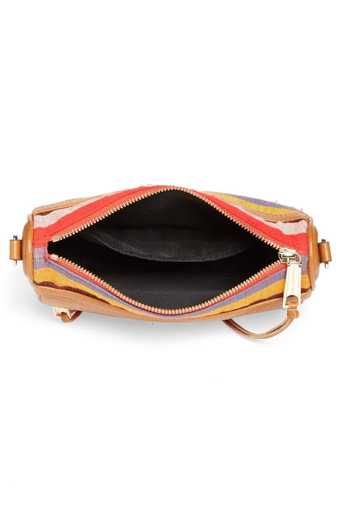 Piece & Co. and Rebecca Minkoff 'Mini MAC' Convertible Crossbody Bag,                             Alternate thumbnail 4, color,                             Orange Multi