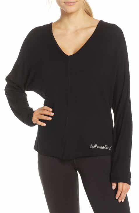 Good Hyouman Ann Hello Weekend Pullover by GOOD HYOUMAN