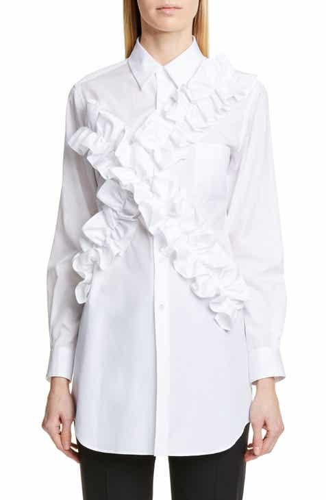 eee01f3011a Comme des Garçons Ruffle Cotton Shirt