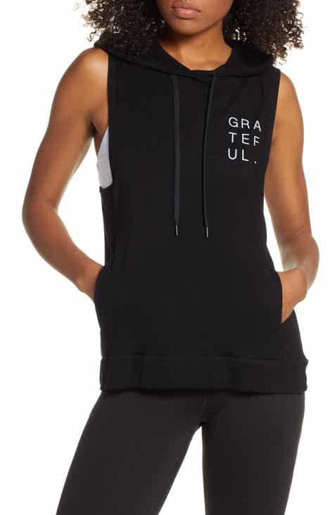 Good Hyouman Levi Grateful Sleeveless Hoodie by GOOD HYOUMAN