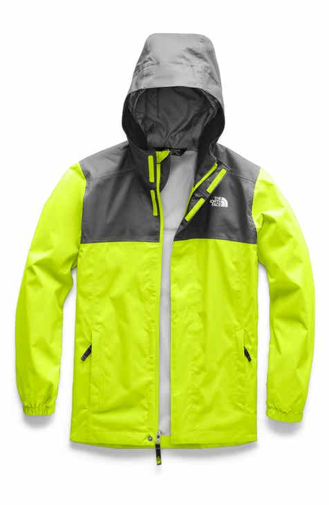 840b333d5e8 The North Face Resolve Reflective Water Repellent Hooded Jacket (Big Boys)