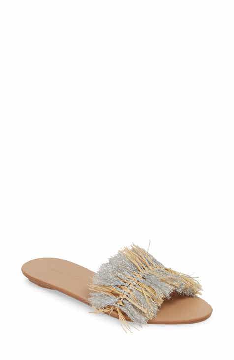 d31f779f6346 Loeffler Randall Woven Slide Sandal (Women)