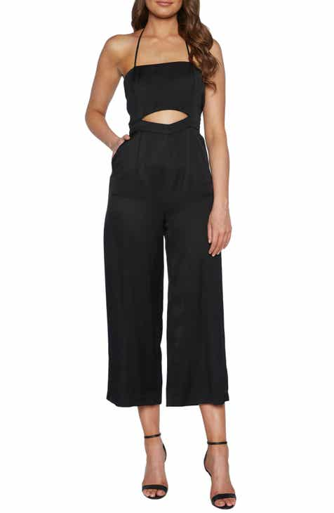 Bardot Geo Peekabo Detail Crop Jumpsuit By BARDOT by BARDOT Best Design