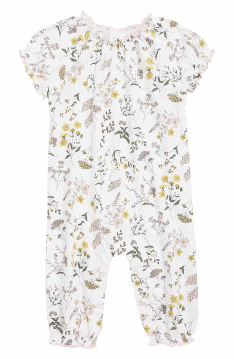 191a3c84db77 Nordstrom Baby Floral Ruffle Romper (Baby)