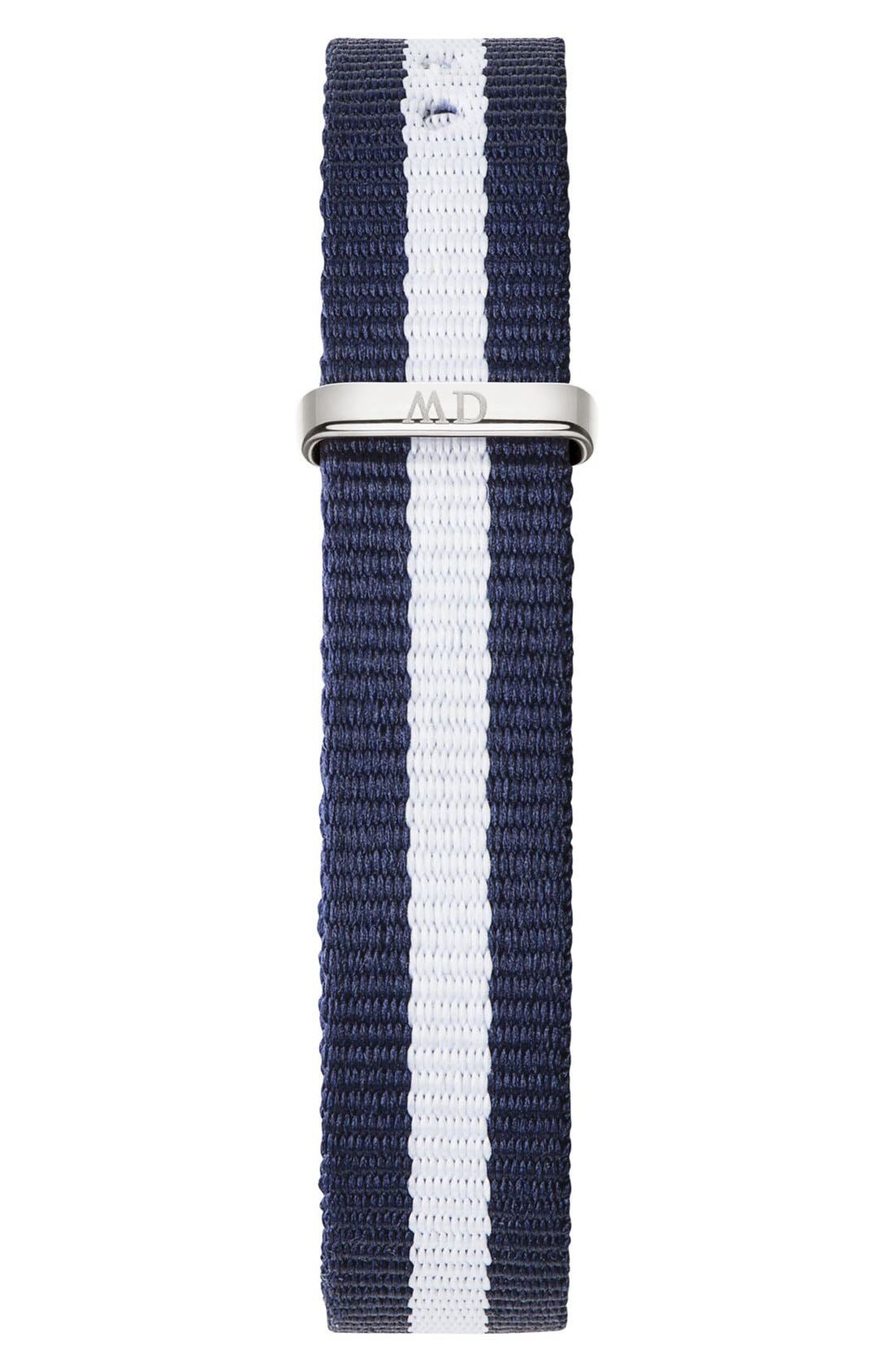 Alternate Image 2  - Daniel Wellington 'Classy Glasgow' Crystal Index NATO Strap Watch, 26mm
