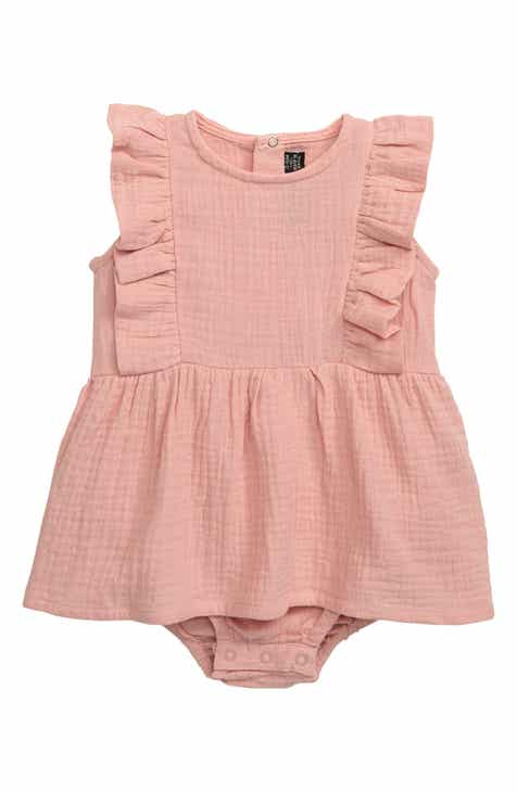 d6db6c0dd65bef Rock Your Baby Florrie Ruffle Skirted Bodysuit (Baby)