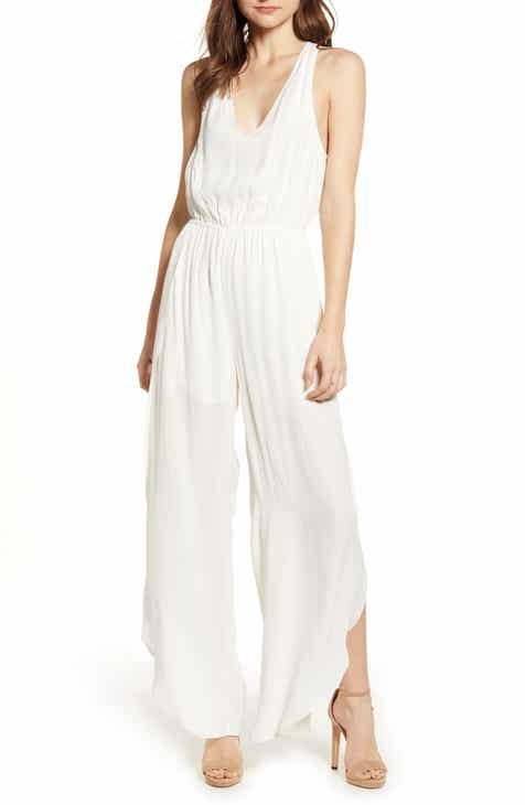 Cupcakes And Cashmere Hammered Crepe Jumpsuit Today Sale Only
