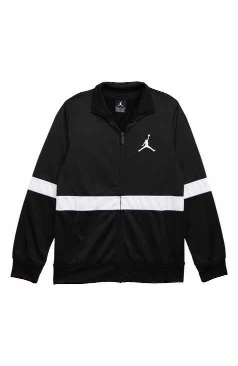 new styles 5a59d adfe1 Jordan Colorblock Tricot Jacket (Big Boys)