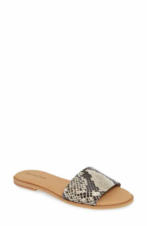 d68c3ef87 Treasure   Bond Mere Flat Slide Sandal (Women)