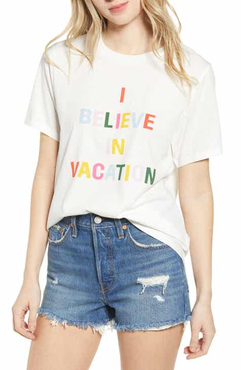 ban.do I Believe in Vacation Classic Tee