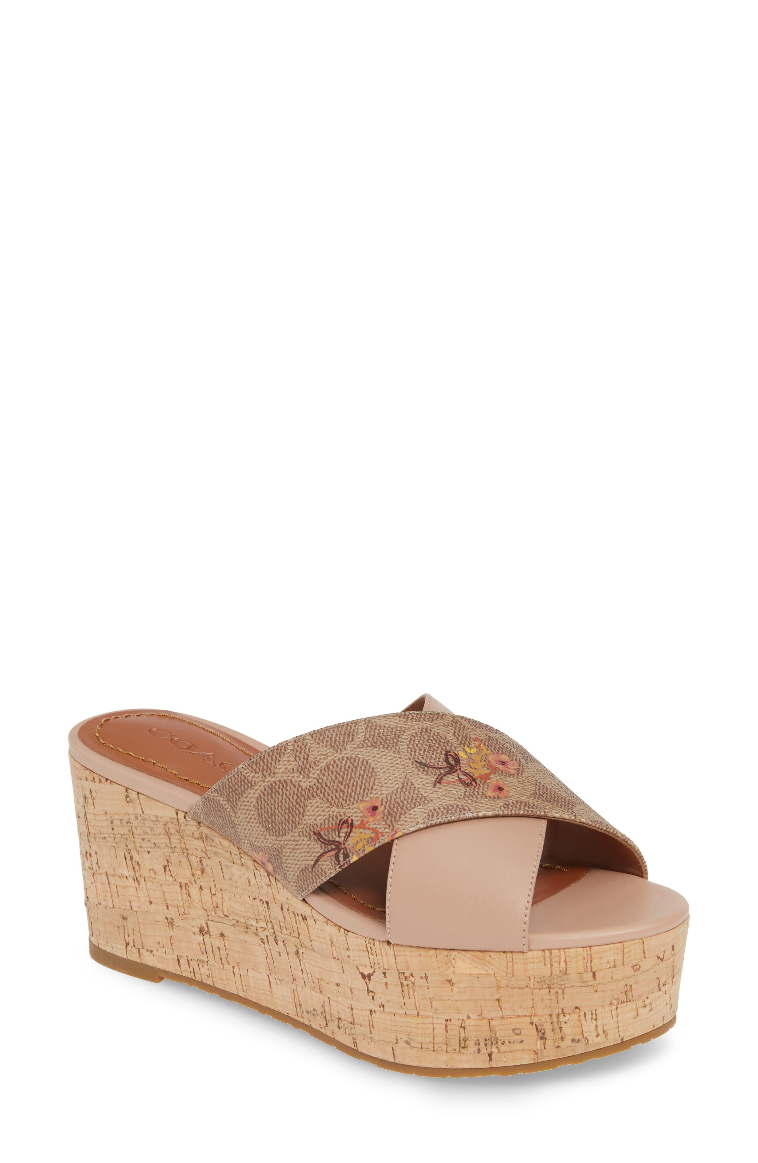 54ebe175a3 Women's COACH Sandals | Nordstrom
