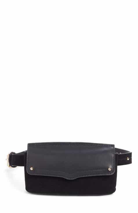00d4ea640 Rebecca Minkoff Maya Leather & Suede Belt Bag. Sale:$78.90