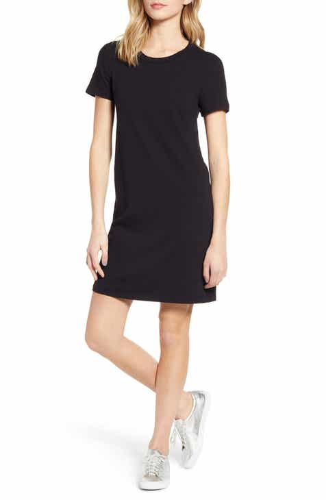 Stateside Cotton Jersey T-Shirt Dress