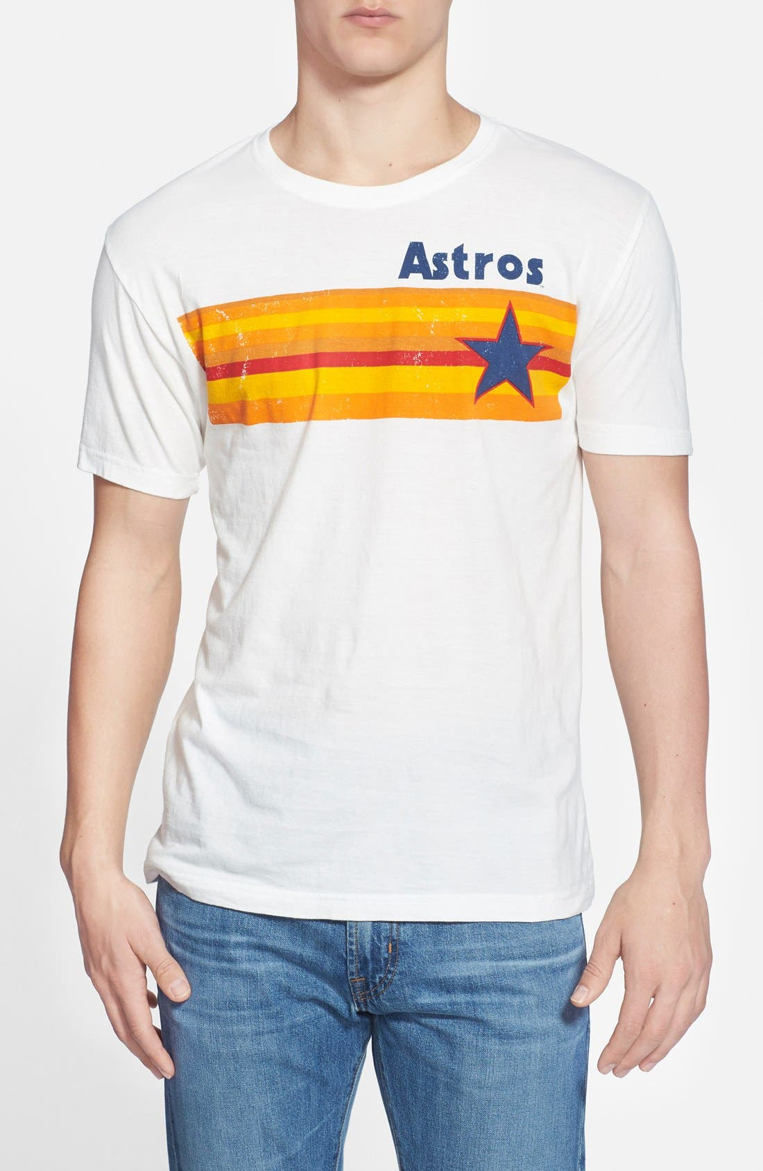 Alternate Image 1 Selected - Red Jacket 'Houston Astros - Brass Tacks' T-Shirt