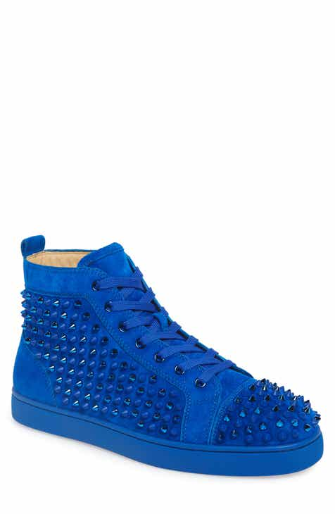 low priced 814a4 2d277 Christian Louboutin Louis Spikes High Top Sneaker (Men)