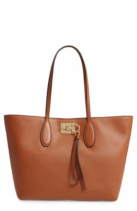 566b14e668 Salvatore Ferragamo The Studio Piccolo Leather Tote