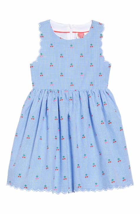 ae6042207be1 Mini Boden Scallop Edge Gingham Dress (Toddler Girls