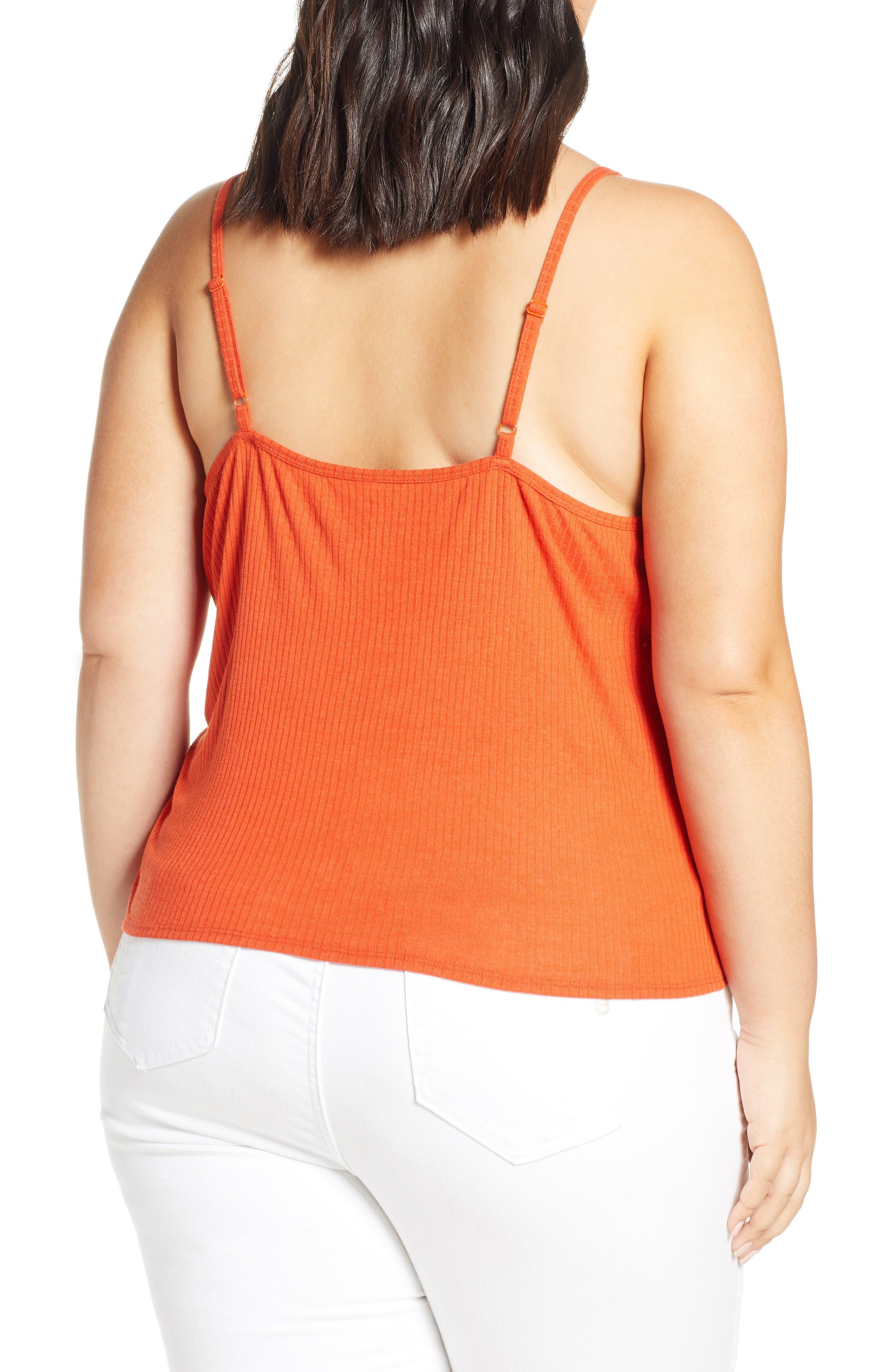 323e40f671ec4 orange tank tops for women