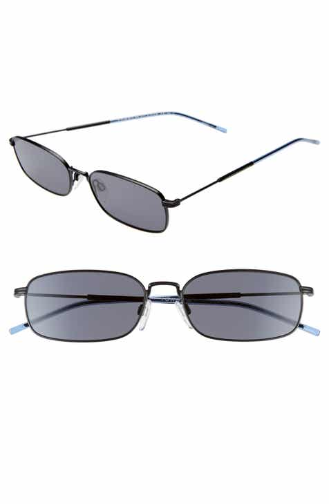 207a7513272 Tommy Hilfiger 55mm Rectangle Sunglasses