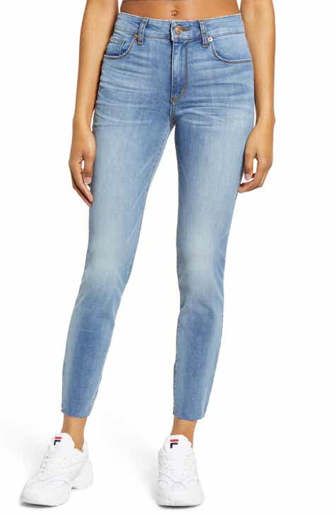 13e30628 STS Blue Ellie Raw Hem High Waist Skinny Jeans (Camberwood)