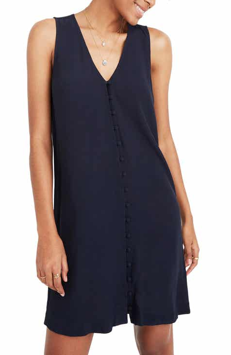 2904eb2c2e Madewell Heather Button Front Dress