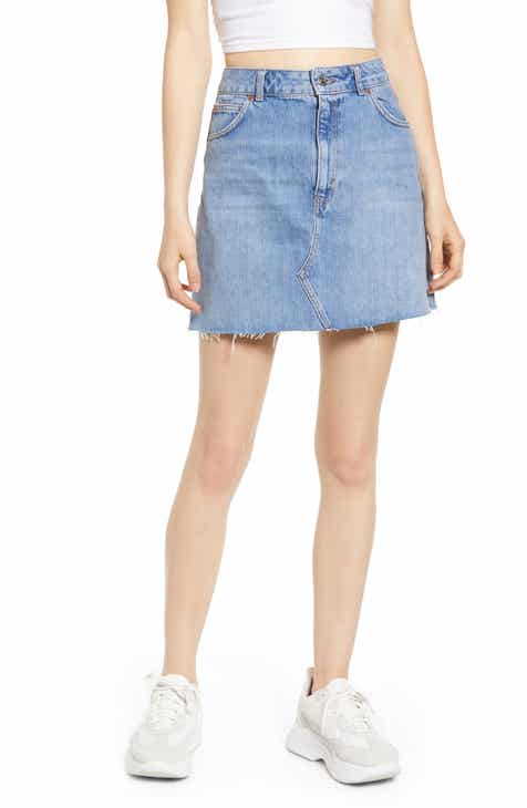 Caslon® Paperbag Waist Linen Blend Skirt (Regular & Petite) By CASLON by CASLON No Copoun