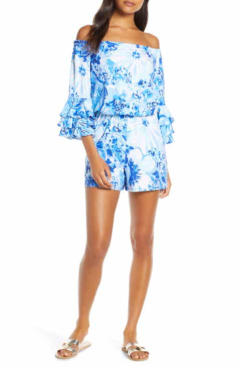 Lilly Pulitzer® Calla Off the Shoulder Romper