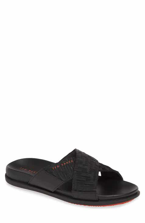 4273761ba Ted Baker London Mablis Cross Strap Slide Sandal (Men)