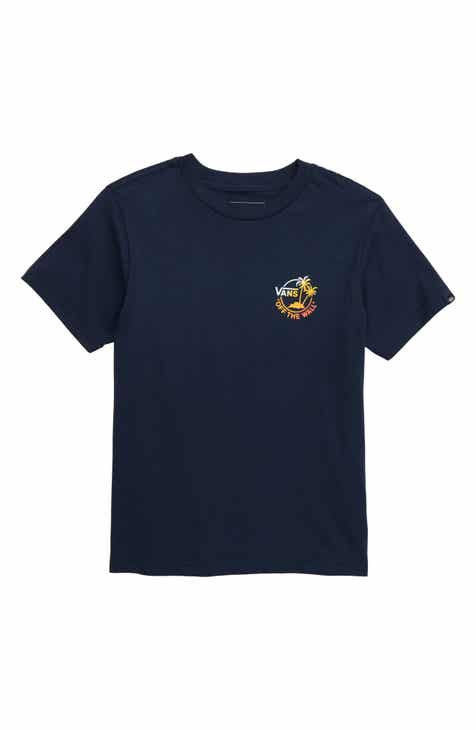 f9b0acff4d Vans Mini Dual Palm III T-Shirt (Big Boys)