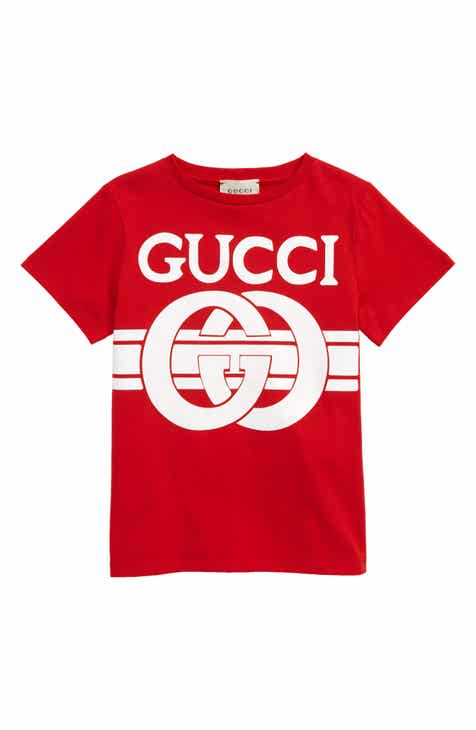 287a4fdcf728 Gucci Graphic Tee (Little Girls   Big Girls)