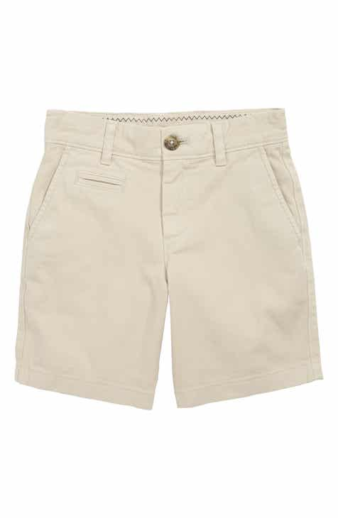 e988067e johnnie-o Neal Cotton Twill Shorts (Little Boys)