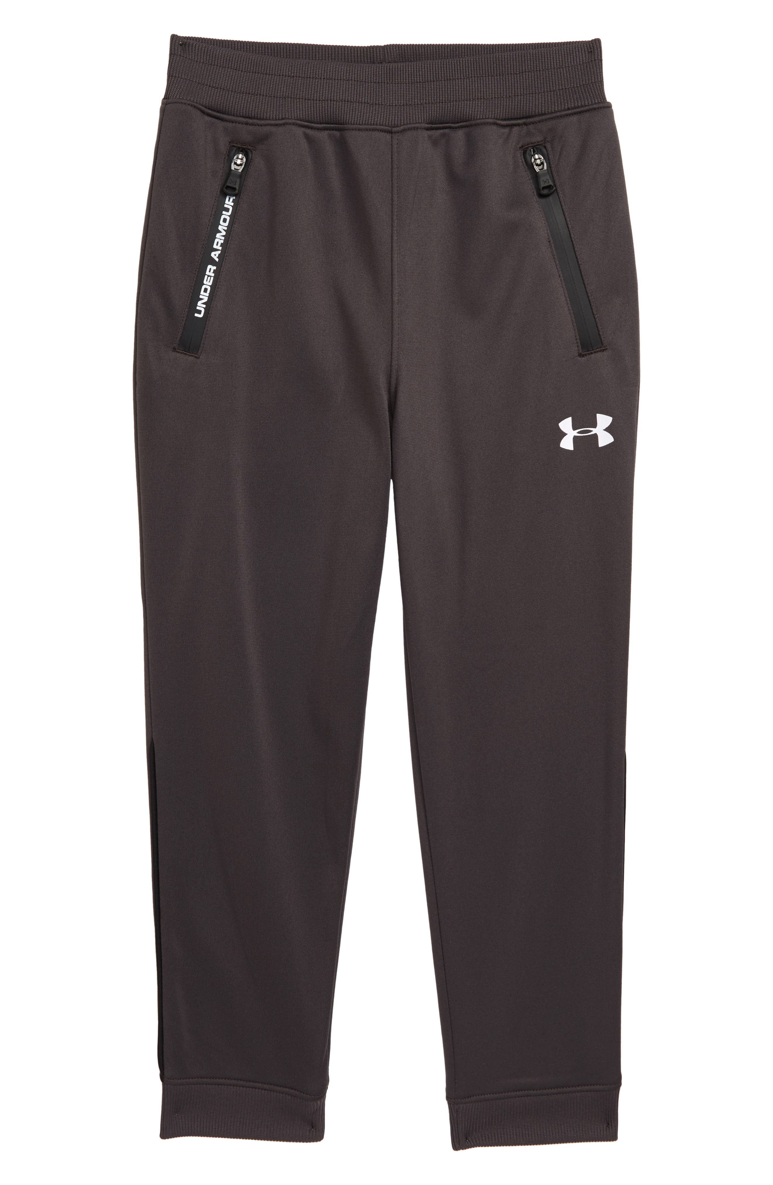 Under Armour Boys Gray Graphite Youth Sports Pants Size 3T NEW