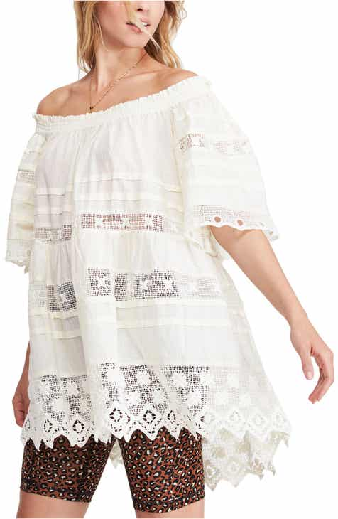 961de72f22c Free People Sounds of Summer Off the Shoulder Tunic Top