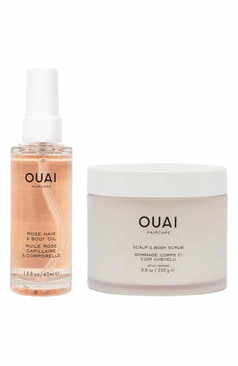 Ouai Oil & Scrub Set