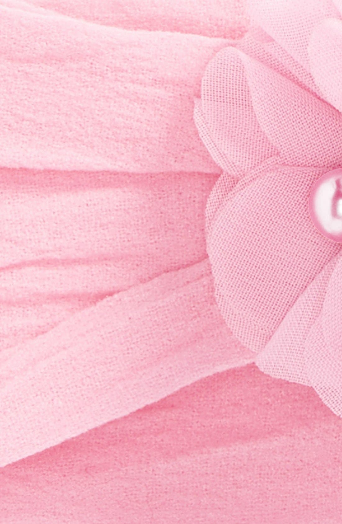 Alternate Image 2  - Baby Bling Chiffon Bouquet Headband (Baby Girls)